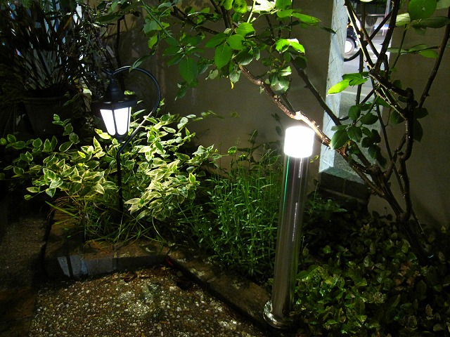 多様なライトを各所に配置してます Rise Exterior 展示場 Spectacular garden lighting by lighting professionals. Enjoy a dramatic, romantic, even mysterious scene comparing to a day time.