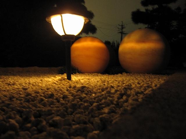 アプローチライティング 株式会社トレド 長野県 冨澤様邸 Spectacular garden lighting by lighting professionals. Enjoy a dramatic, romantic, even mysterious scene comparing to a day time.