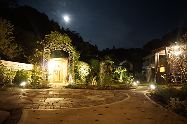 憧れのガーデンスタイル 株式会社ガーデンデザインベリー 千葉県S様邸 Spectacular garden lighting by lighting professionals. Enjoy a dramatic, romantic, even mysterious scene comparing to a day time.