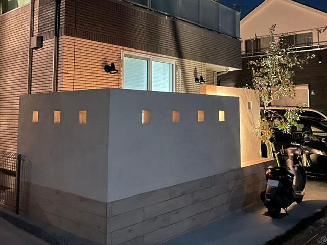ライトアップで夜も素敵に演出 株式会社LAND-H.A.G 神奈川県N様邸 Spectacular garden lighting by lighting professionals. Enjoy a dramatic, romantic, even mysterious scene comparing to a day time.